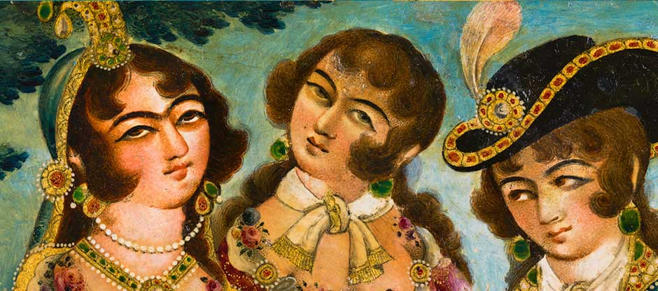 Previous Exhibitions - Qajar Women AR